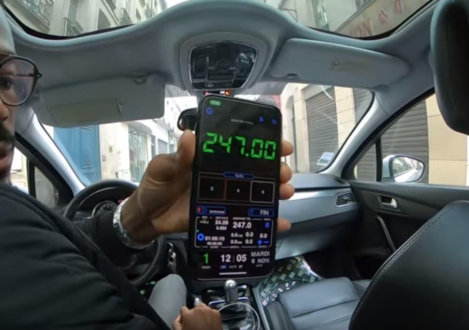 tip cab drivers in paris