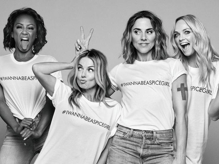 1a58240d Spice Girls launch limited edition clothing range for Comic Relief | The  Independent