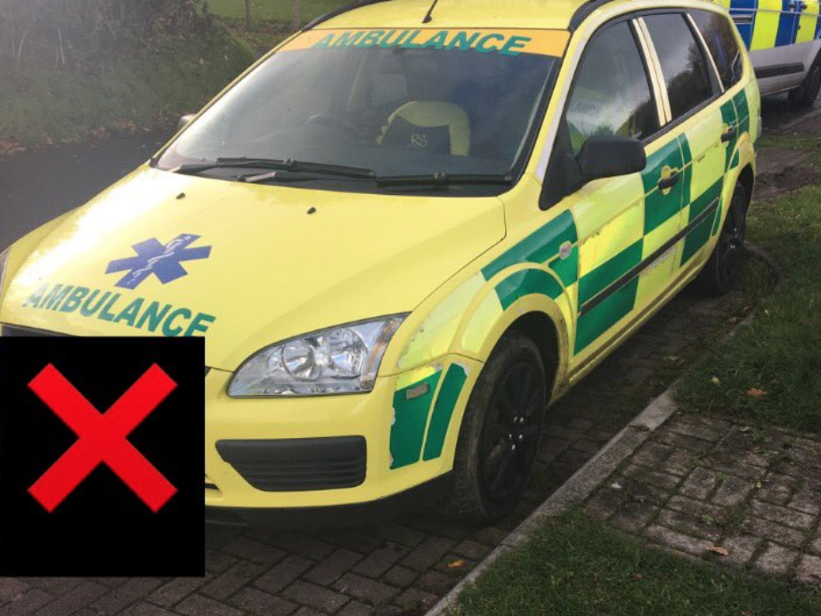 Teenager arrested for allegedly driving fake ambulance around Welsh village