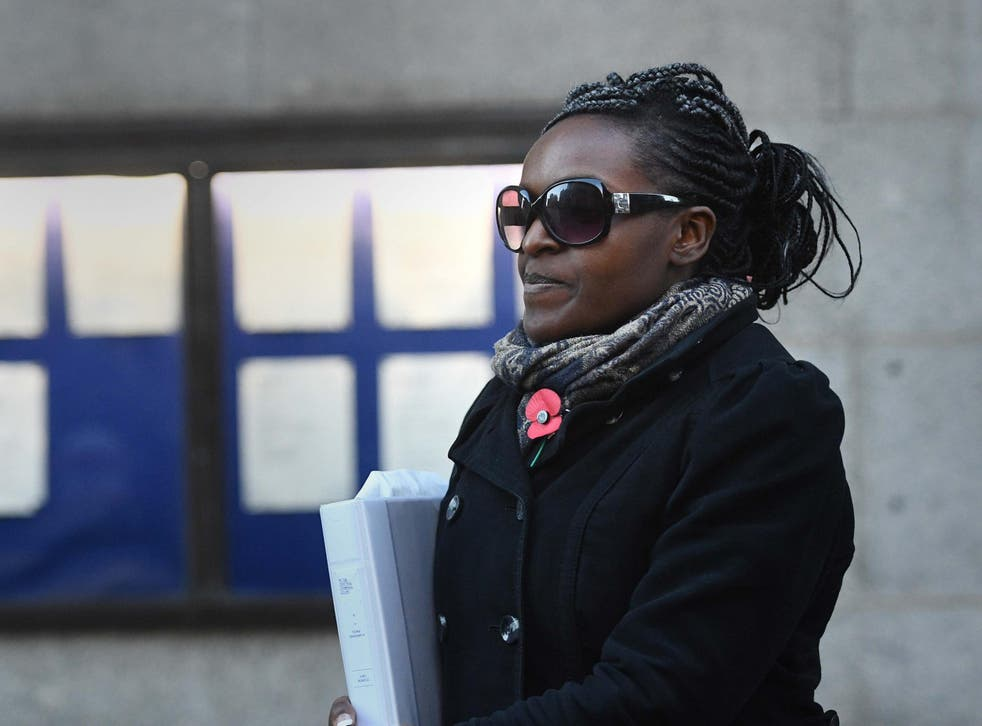 Labour MP Fiona Onasanya leaves the Old Bailey in London on Monday November 12 2018
