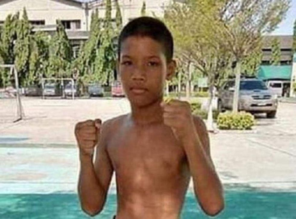Anucha Tasakom, 13, died after being knocked out in a Thai boxing match