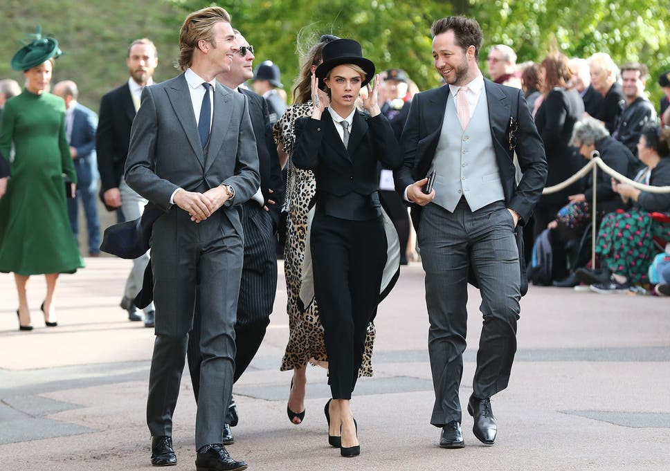 Cara Delevingne Asked Princess Eugenies Permission To Wear Tuxedo
