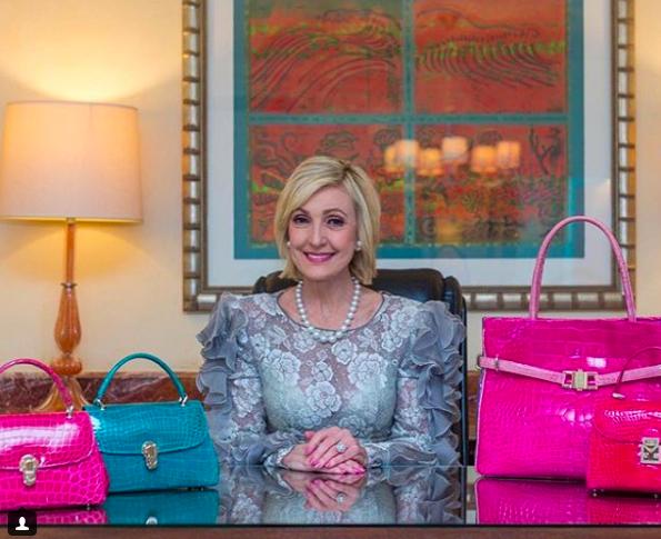 Trump appoints handbag designer Lana Marks as US ambassador to South Africa