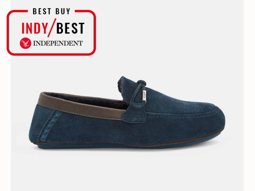 afa73aec8 Ted Baker Valcent Suede Moccasin Slippers  £60