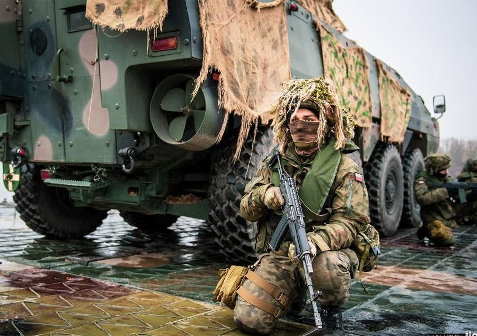 In Poland, Nato military drills brace against the unspoken threat of