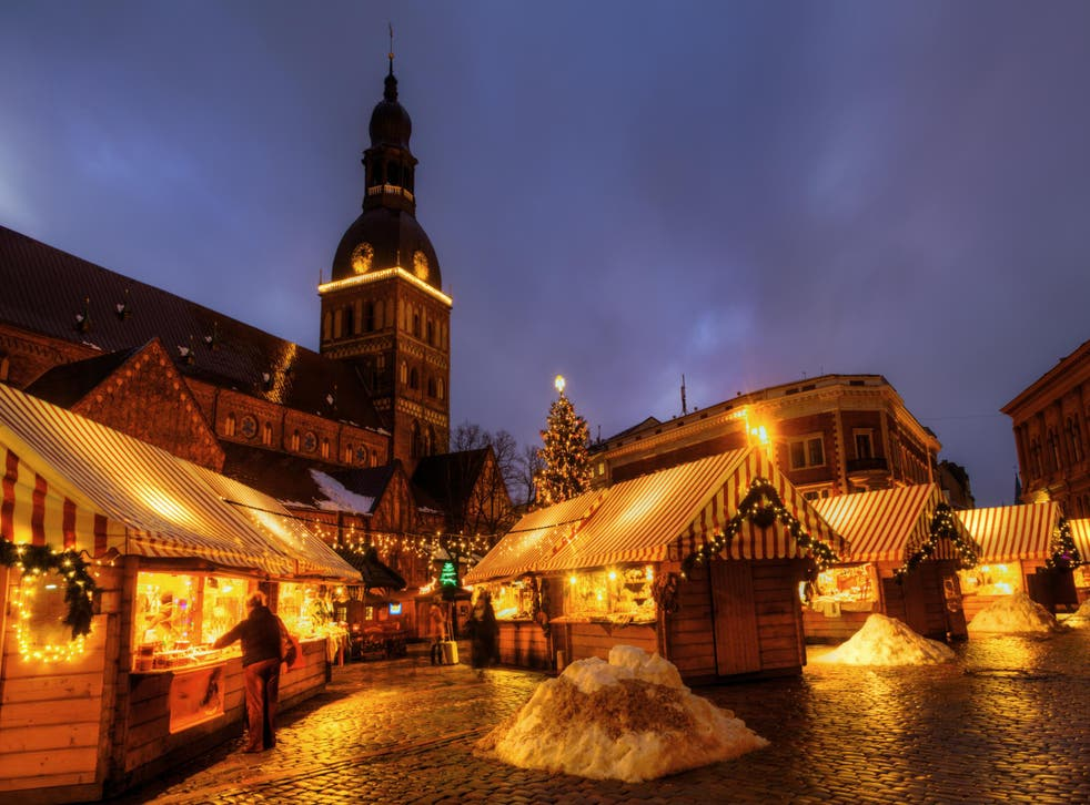 Riga's Christmas market is the cheapest to visit this winter