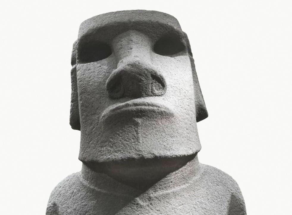 Large stone sculptures or moai, such as Hoa Hakananai'a, pictured, were made on Rapa Nui between 1100 and 1600AD