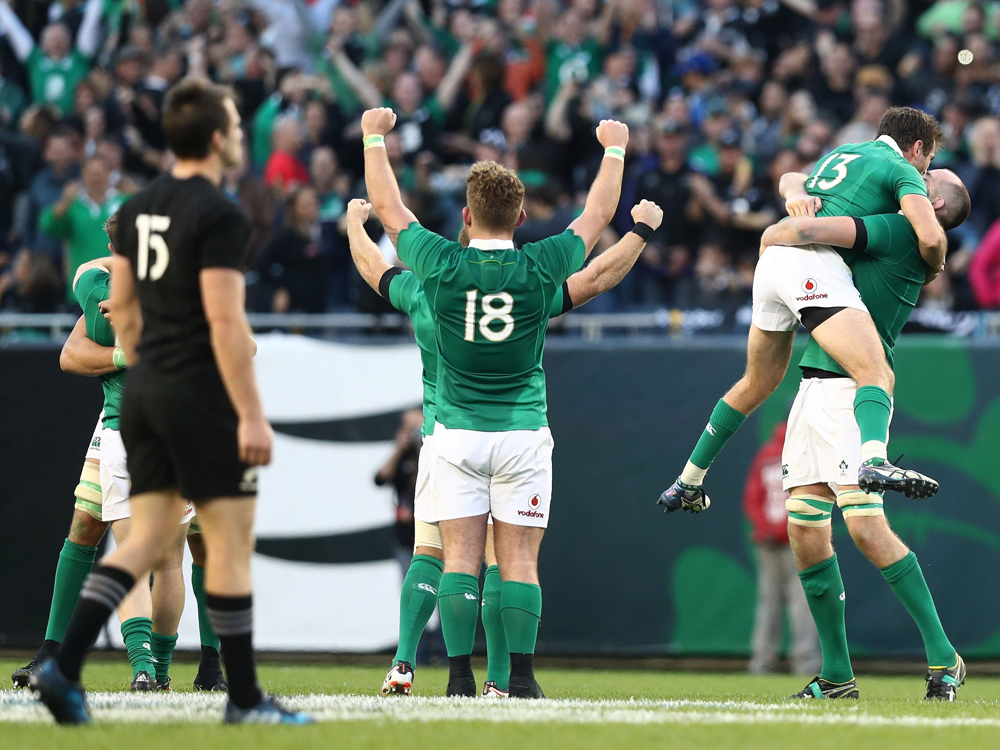 Ireland vs New Zealand: The numbers do not lie - there is only one show in town this weekend and it's in Dublin