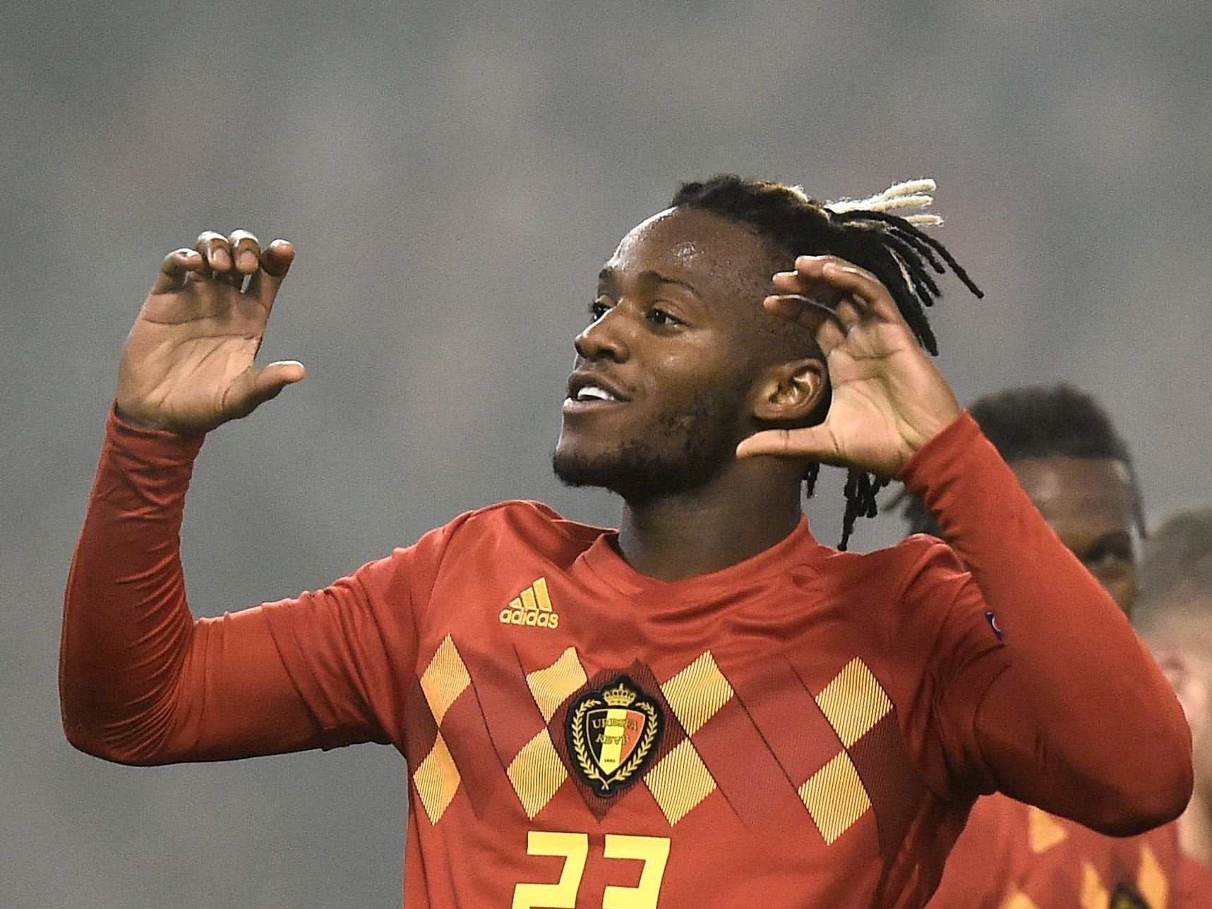 Michy Batshuayi rules out early return to Chelsea after impressing with Belgium in Uefa Nations League