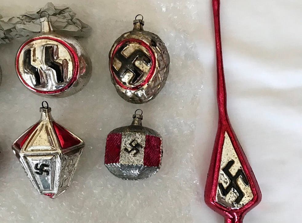 Claus Dalsborg bought a set of Nazi baubles earlier this year and intended to sell them for 10,000 kroner (£1188)