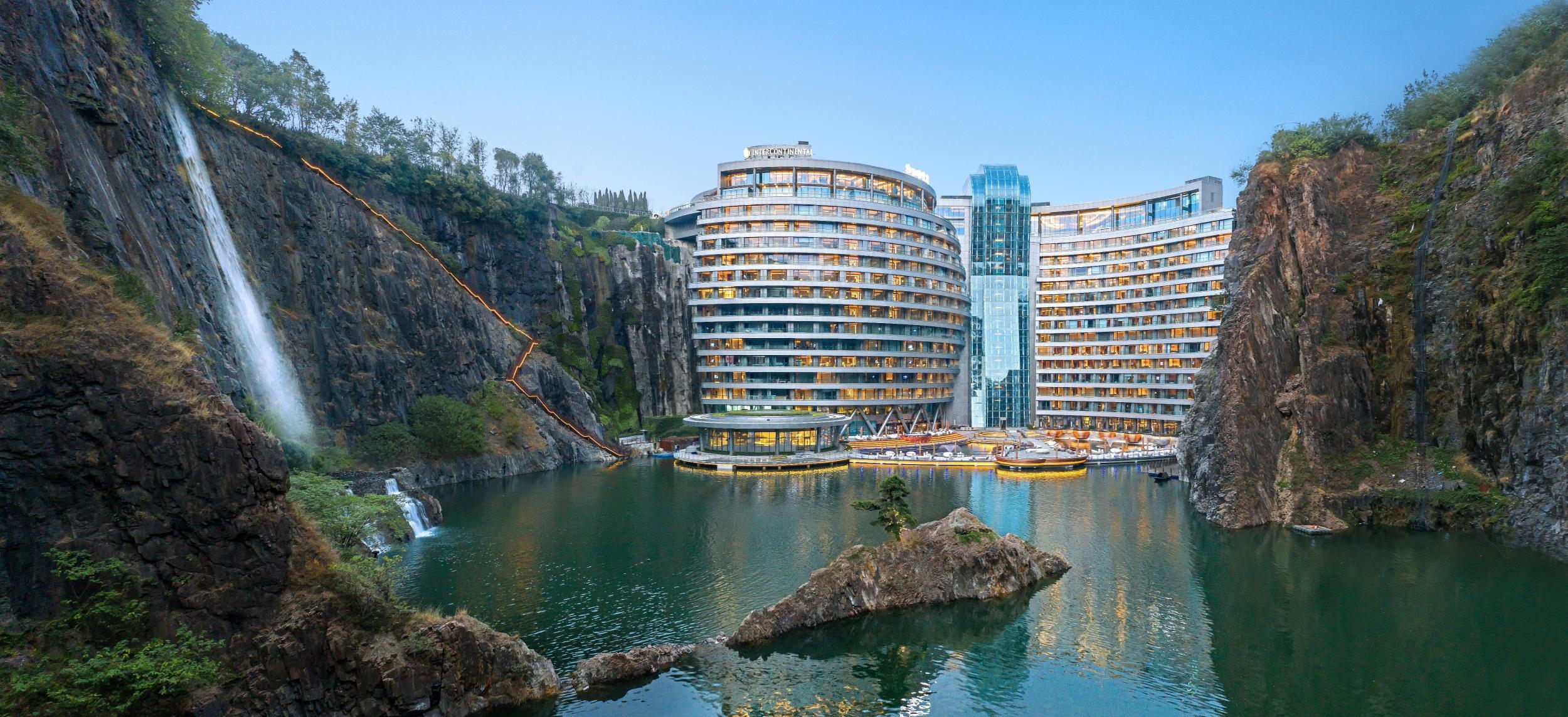 The world's first 'quarry hotel' opens in Shanghai