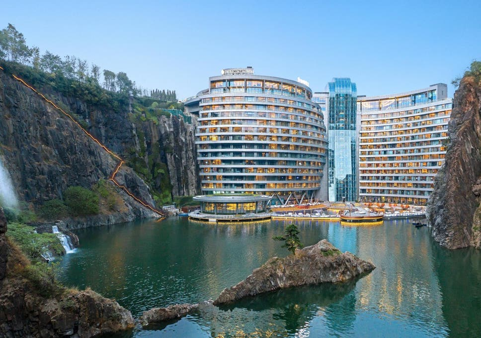 The world's first 'quarry hotel' opens in Shanghai | The
