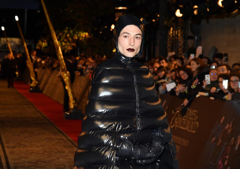 Image result for ezra miller weird