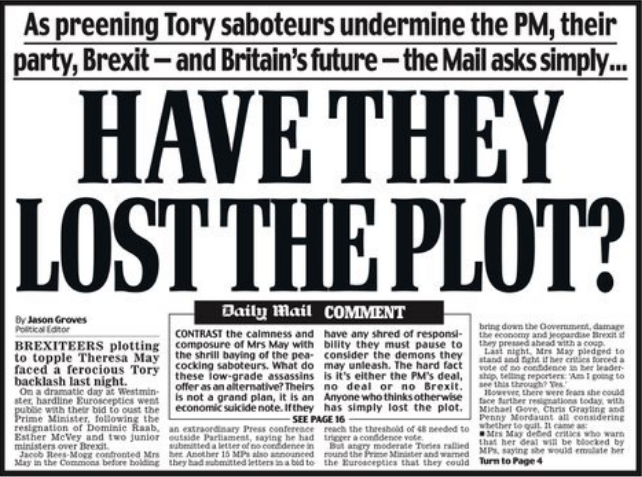 Daily mail newspaper uk today