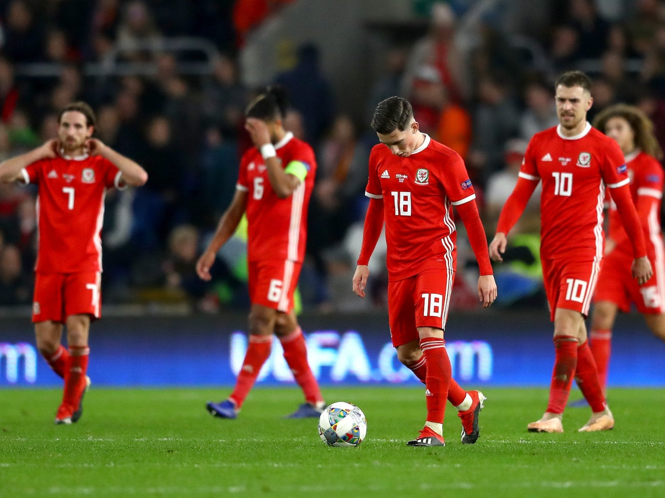 be5014a62 Giggs on the positives he s taking from defeat to Denmark · International