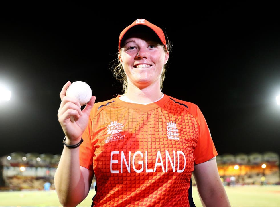 Shrubsole starred with the ball as England qualified for the last four