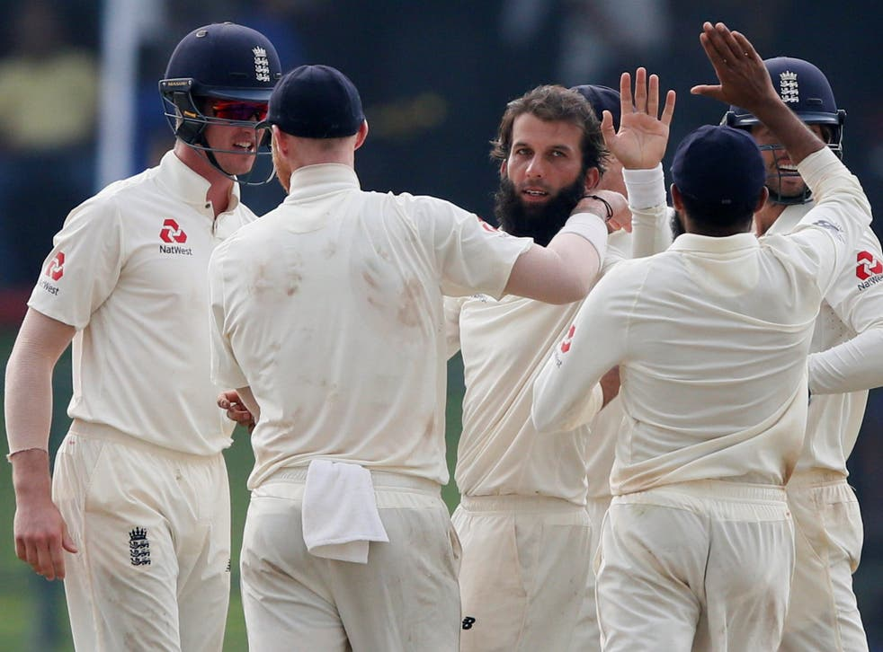 England edged a topsy-turvy fourth day in Pallekele