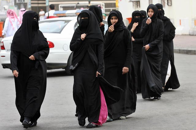 Muslim women in Saudi Arabia, 2007