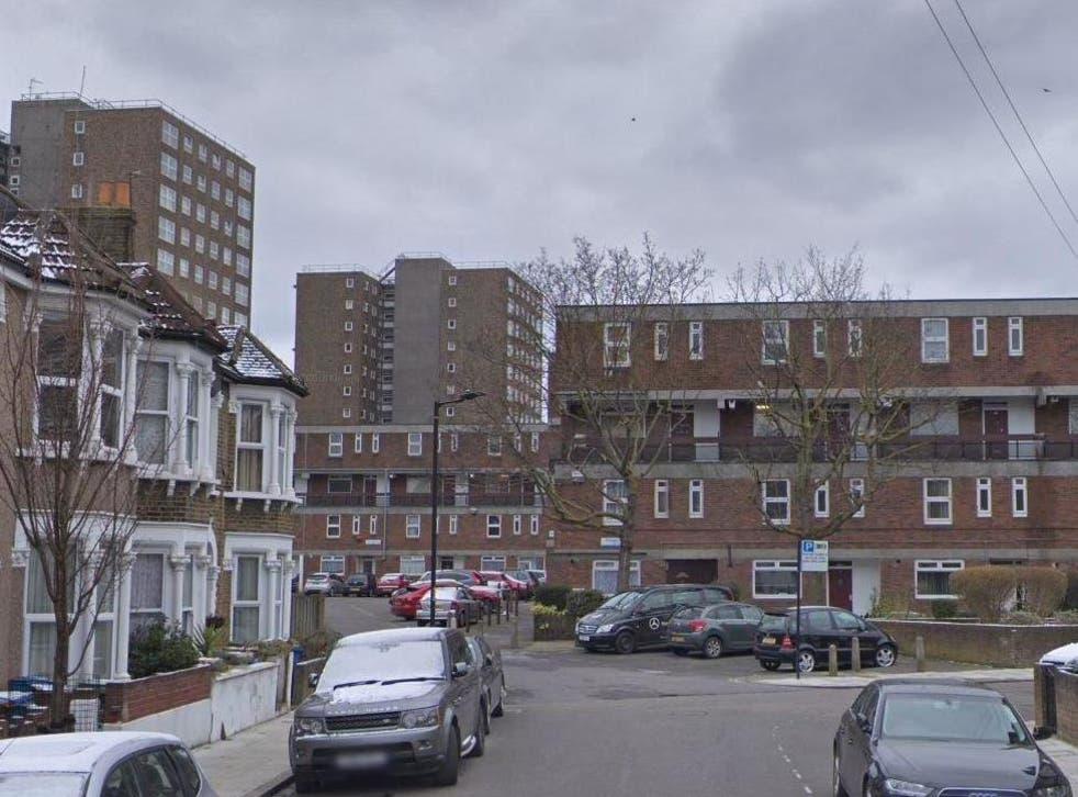 Ethnard Road in Peckham