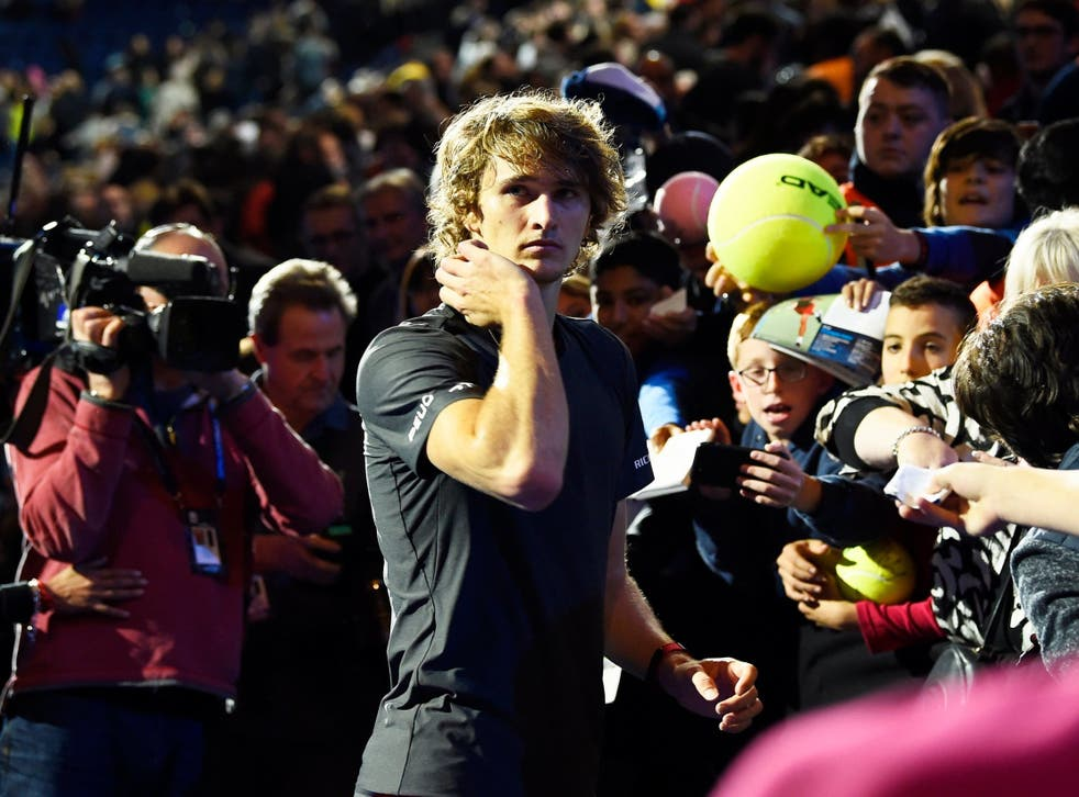 Zverev's win was overshadowed by a controversial ending in London