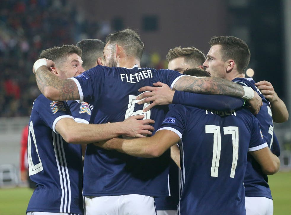 Scotland are now just two games away from Euro 2020 qualification