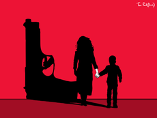 'Don't shoot Mummy': A woman's tale of domestic abuse and gun violence