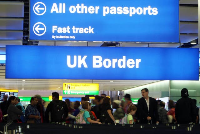 It's estimated the UK's new immigration policy will mean 140,000 fewer EU migrants coming to Britain to work
