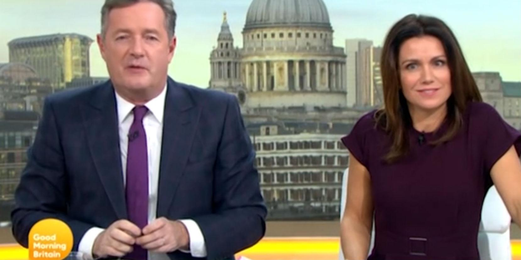 90cd4e9b7 This is what ITV presenters do when Piers Morgan starts ranting on ...