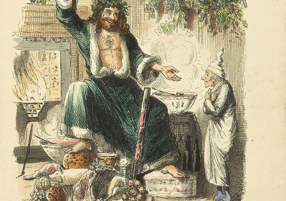 Christmas Carol Scrooge Drawing.Did Charles Dickens Invent Christmas Bah Humbug No He