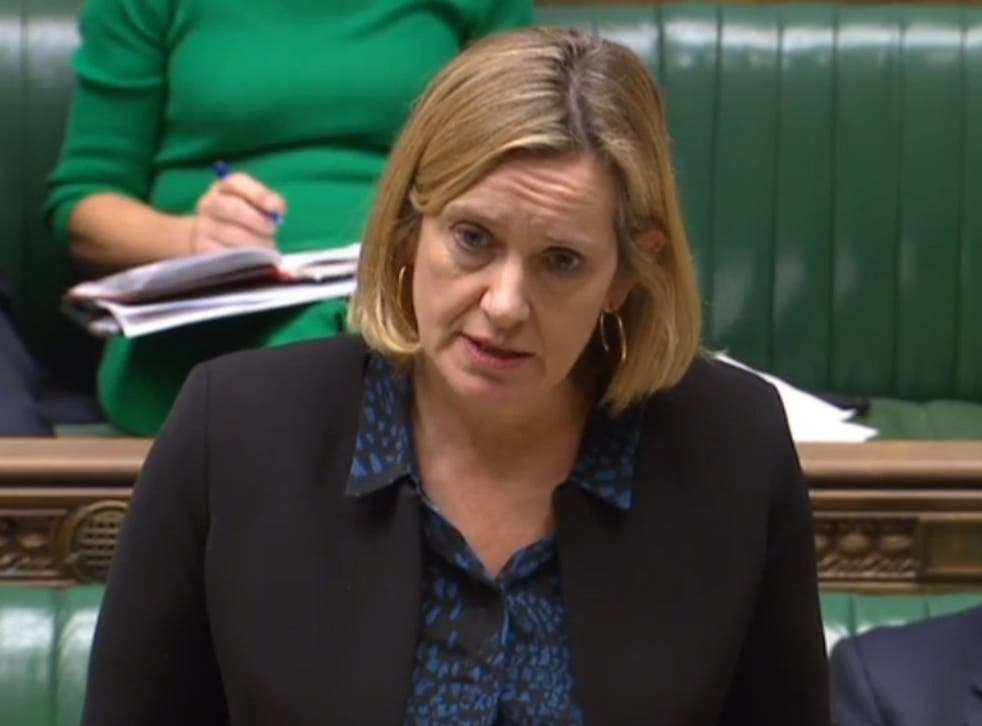 DWP secretary Amber Rudd accepted their had been 'teething problems' with universal credit