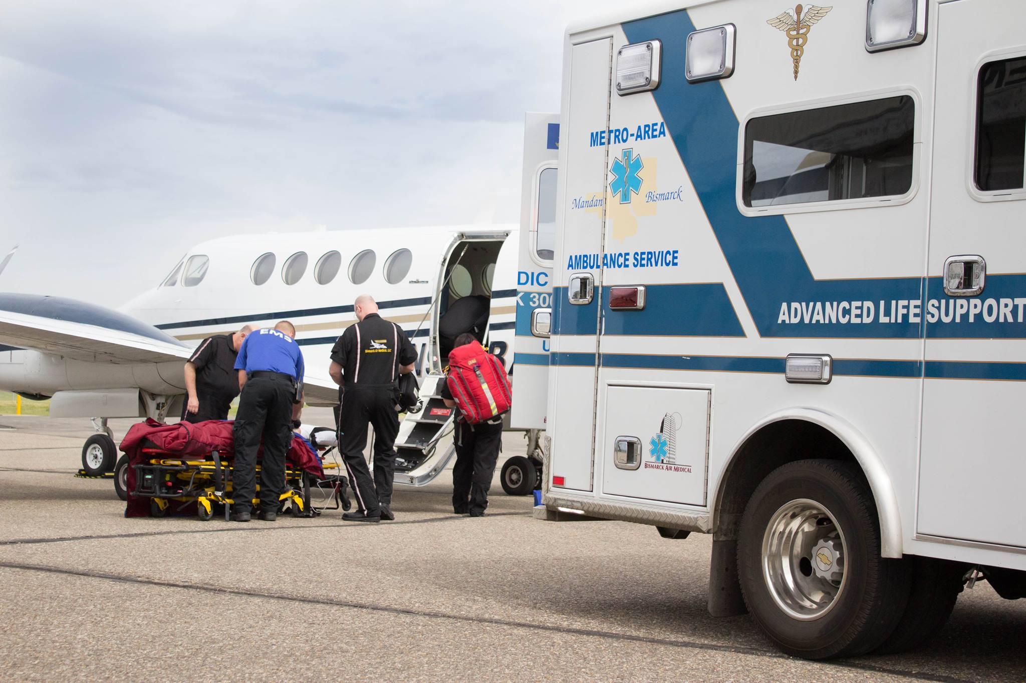 North Dakota plane crash: Three dead as air ambulance crashes near Bismarck