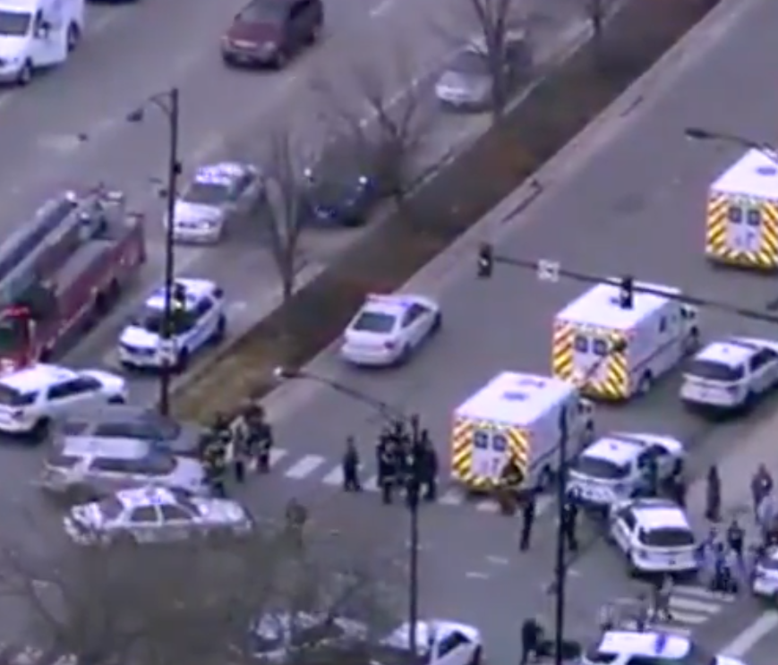 Chicago Shooting: Three Killed And Gunman Shot Dead After