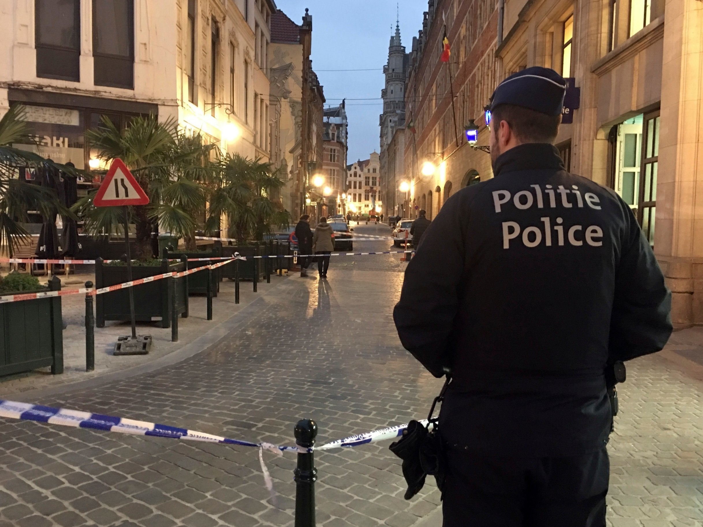 Brussels attack: Police officer stabbed in Belgium's capital before attacker shot
