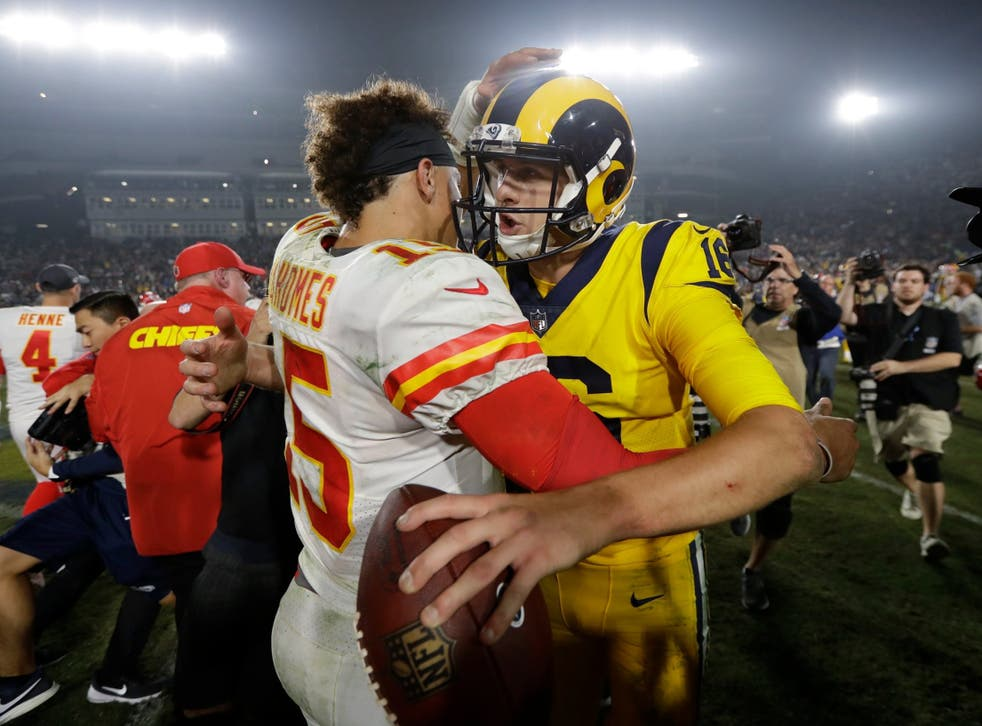 The Rams and Chiefs combined for the third-most points in NFL history