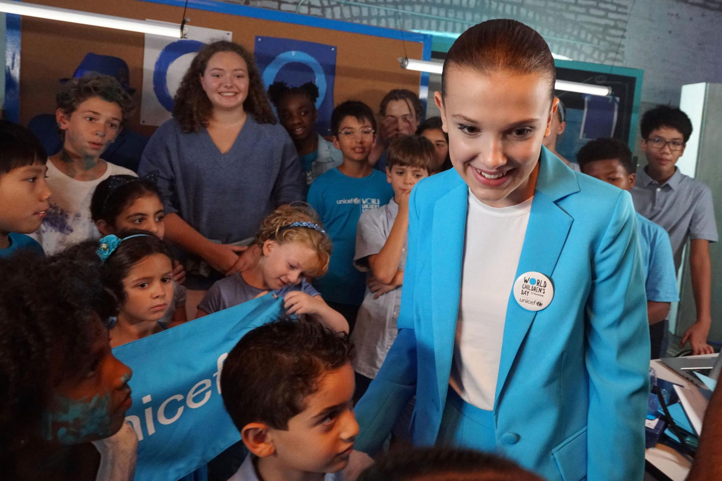 Millie Bobby Brown named Unicef's youngest ever Goodwill Ambassador