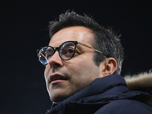 Leeds owner Andrea Radrizzani plays down talks of potential takeover