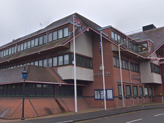 Pericles Malagardis, 63, was found unconscious outside Uxbridge police station