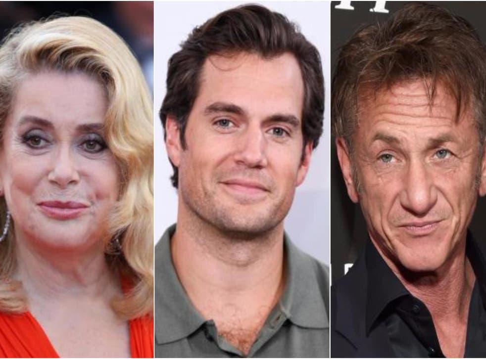Catherine Deneuve, Henry Cavill and Sean Penn