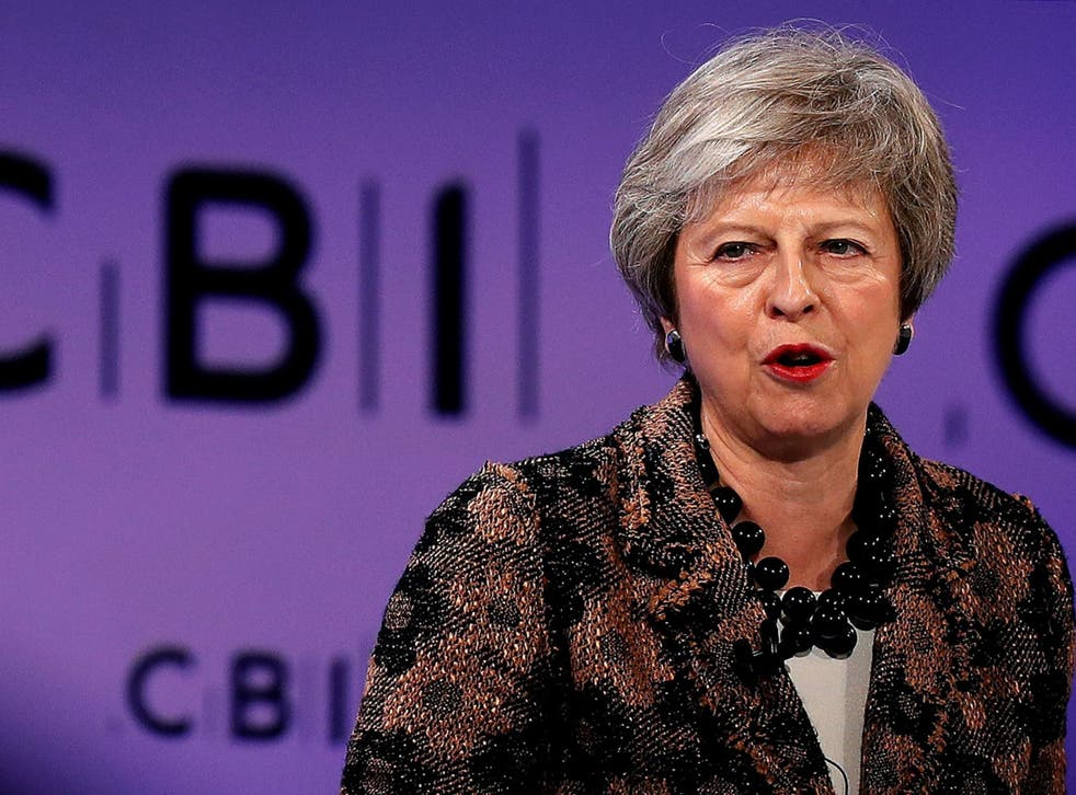 May said her Brexit deal would stop EU migrants 'jumping the queue'