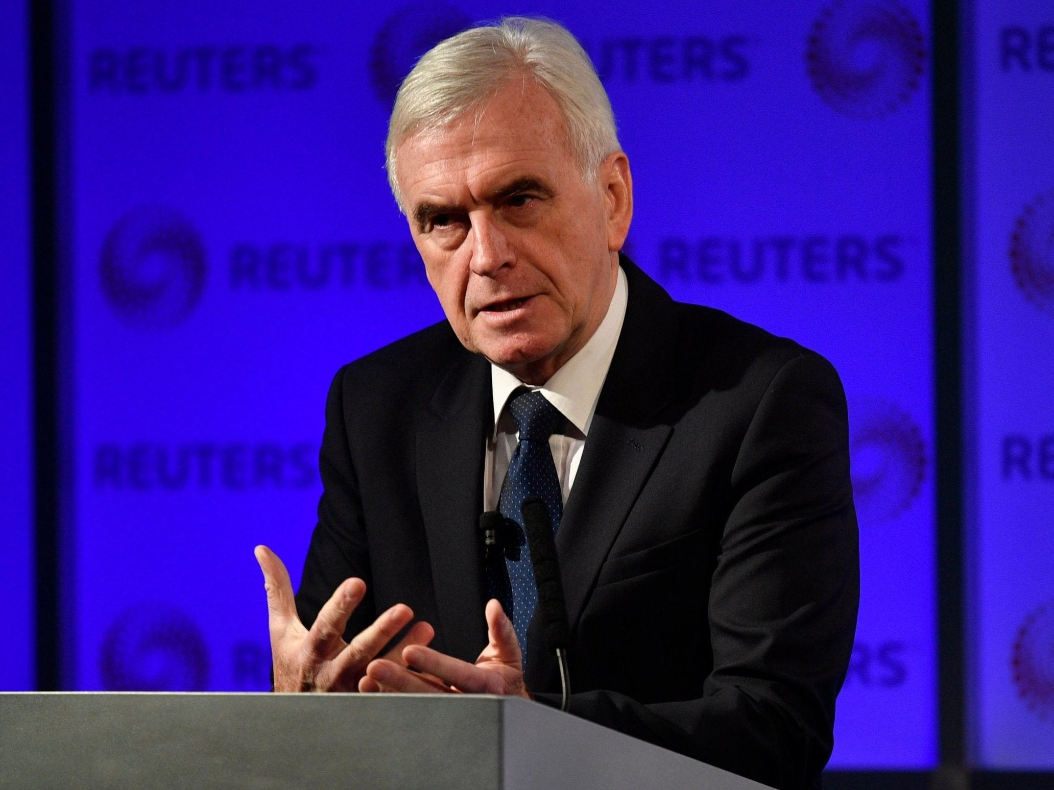 Labor's John McDonnell tells Queen: Let us form a government if Theresa May's Brexit deal voted down