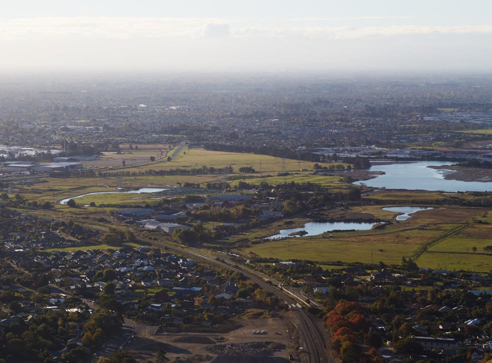 Christchurch in New Zealand, where Wikipedia editor Mike Dickison grew up
