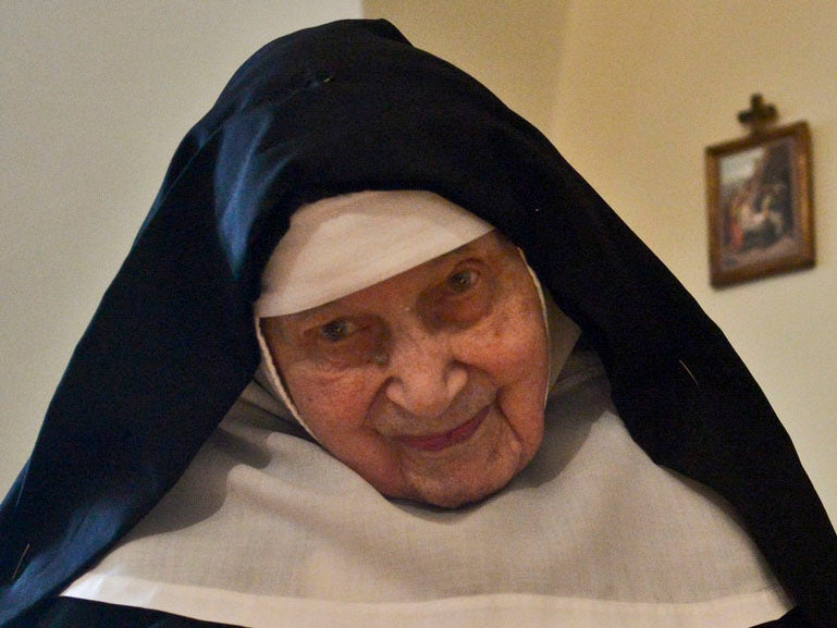 'World's oldest nun' who helped hide Jews from Nazis dies aged 110