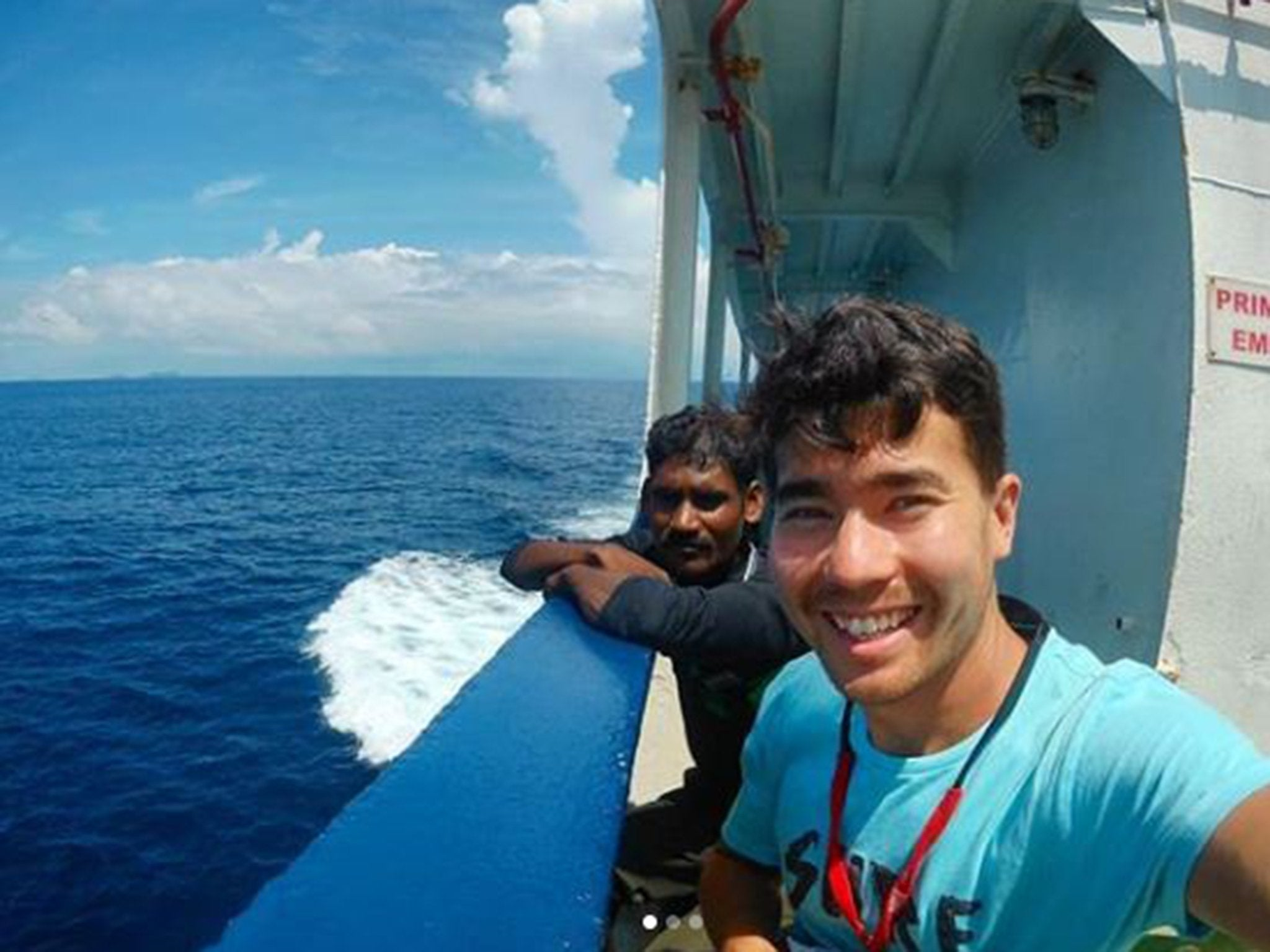 American on deadly trip to Indian island: God sheltered me foto
