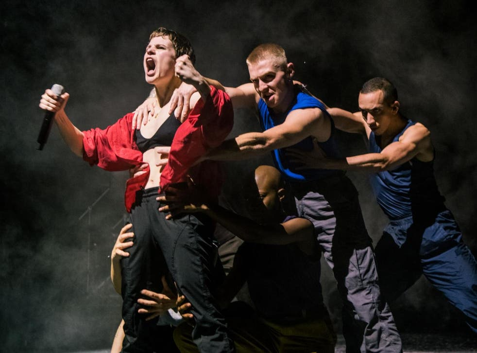 Christine and the Queens at Hammersmith Apollo on Tuesday