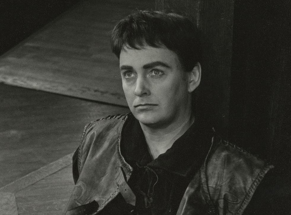 Rain playing the title role of Henry V in 1966 at the Stratford Festival theatre in Ontario