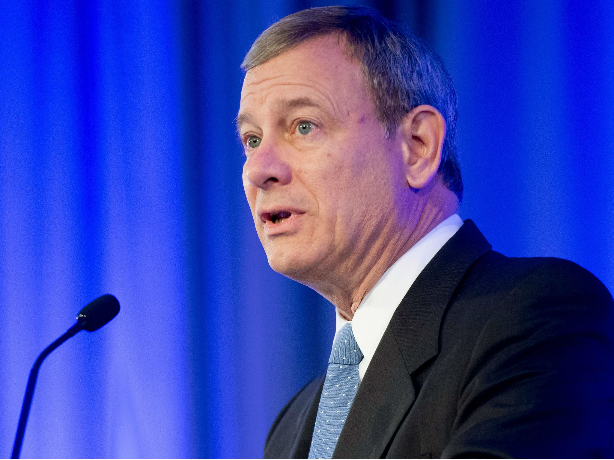 Chief justice John Roberts hits out at Trump 'Obama judge' remark in unprecedented criticism of president