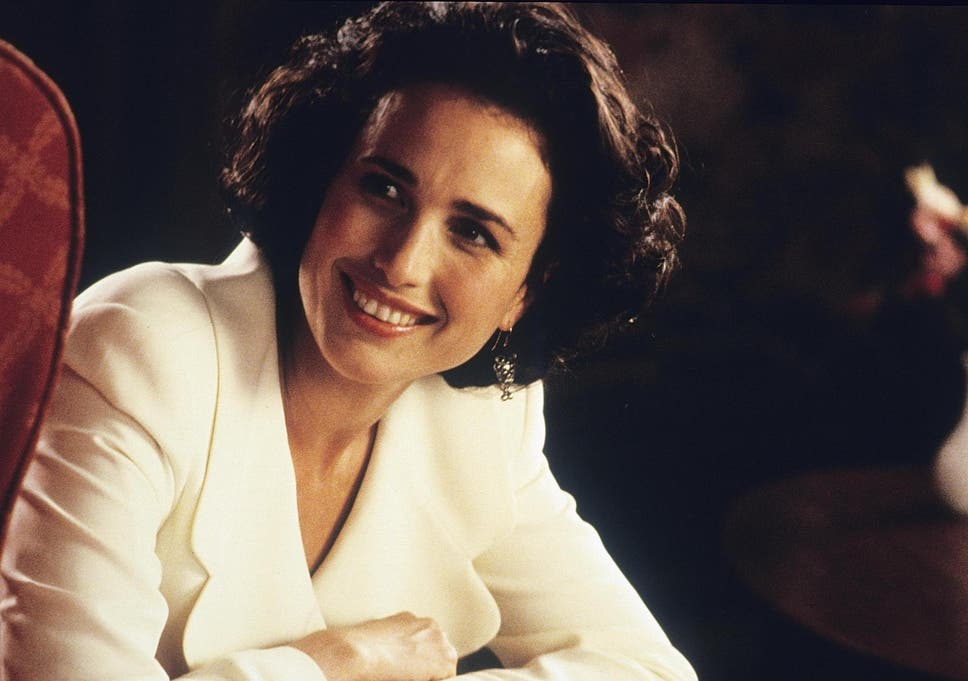 Andie Macdowell in 'Four Weddings and A Funeral'