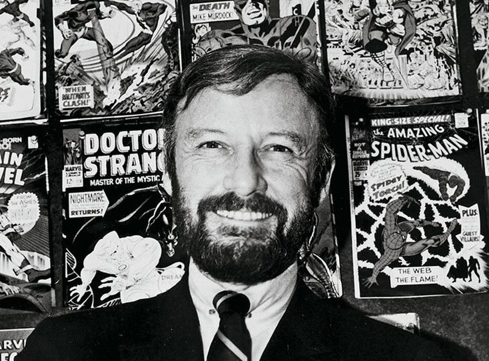 Stan surrounded by some of his most famous covers, 1968