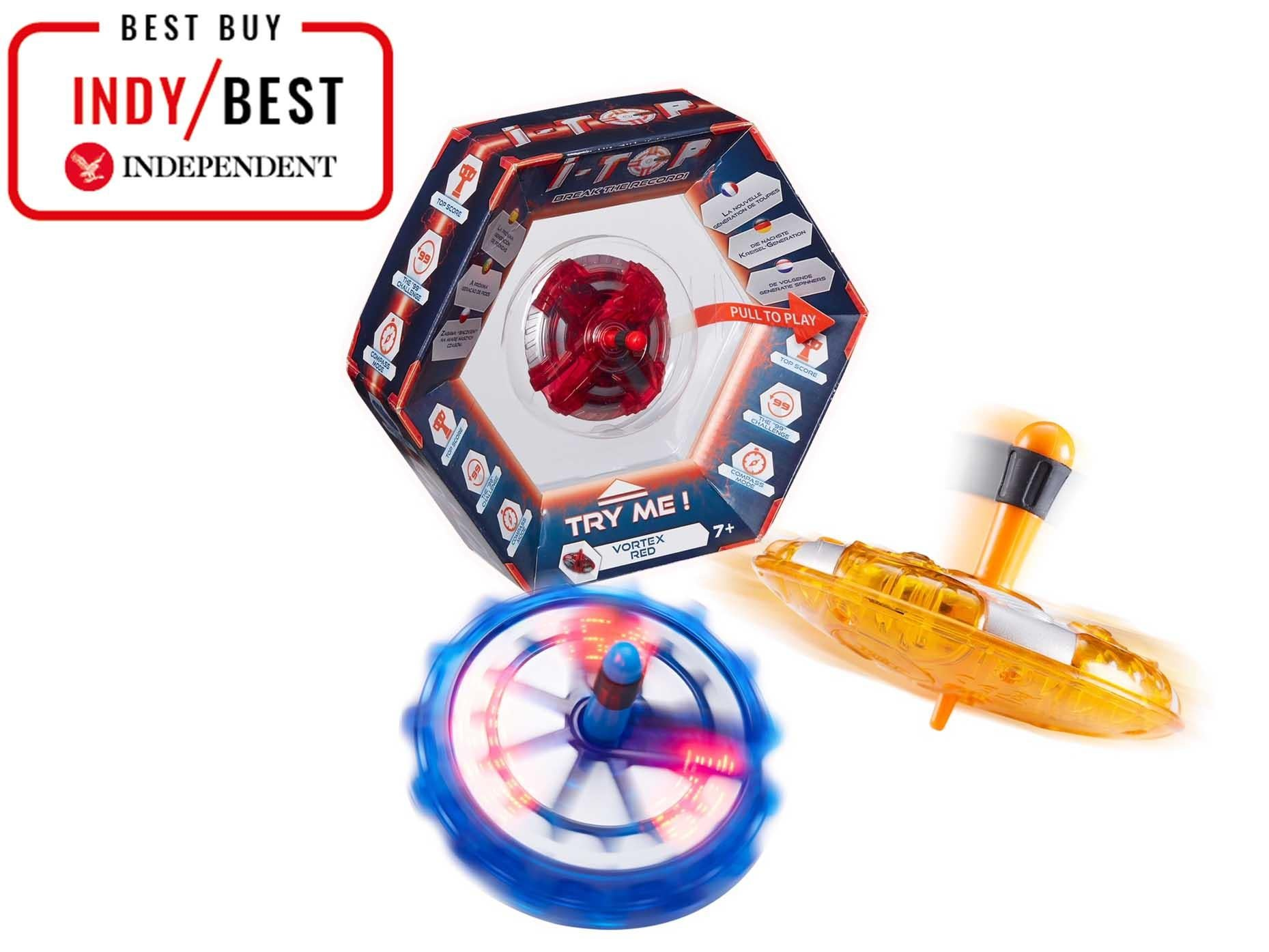 i-Top Electronic Spinning Top Game dede61c1197dc
