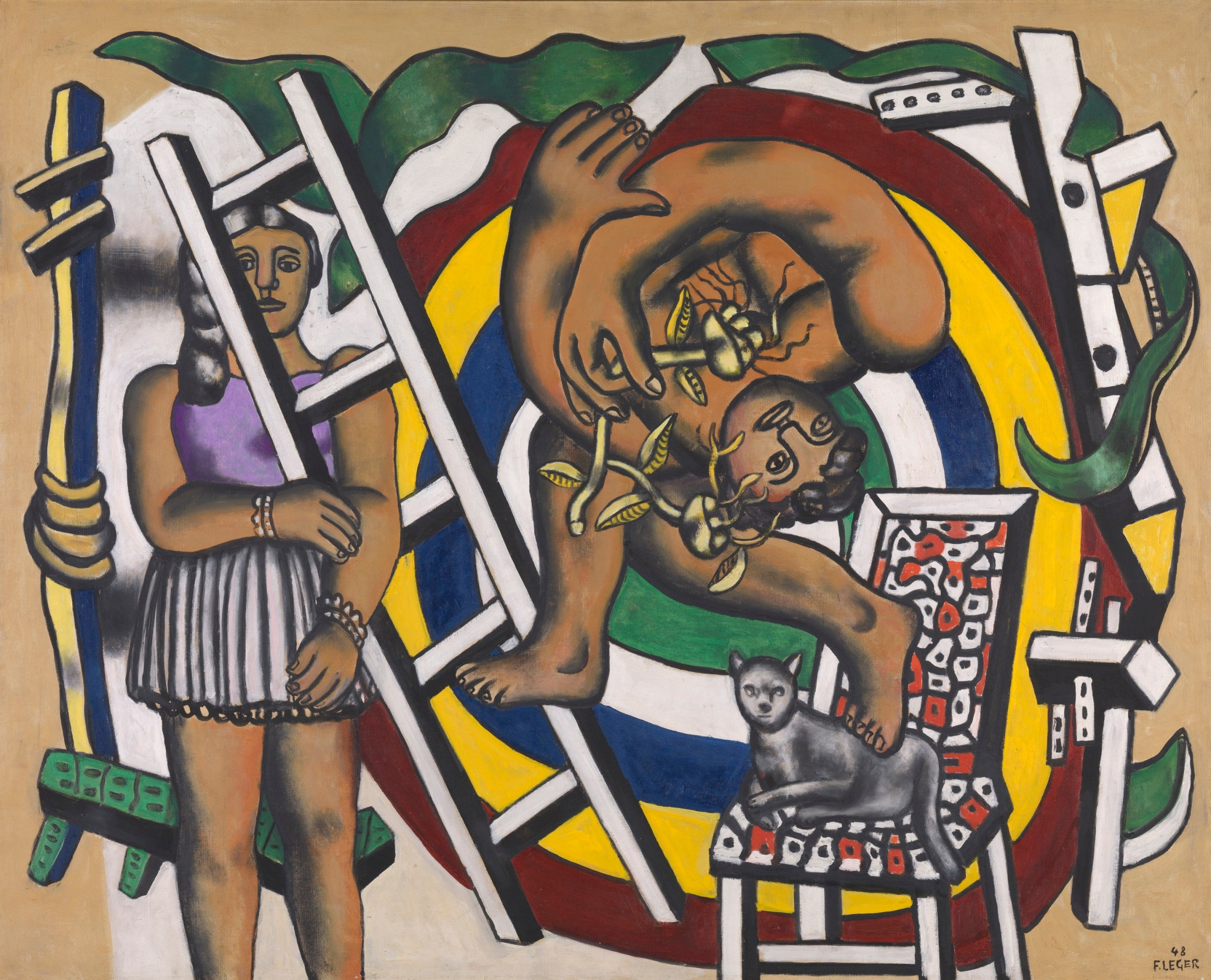 Fernand Leger The French Artist Whose Abstract Mechanical